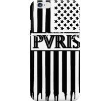 PVRIS NEW DESIGN AMERICAN BLACK  iPhone Case/Skin