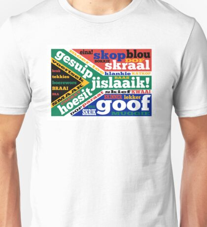 South African slang and colloquialisms  Unisex T-Shirt
