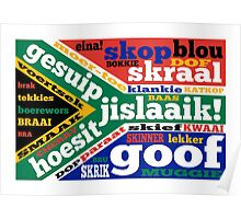 South African slang and colloquialisms  Poster