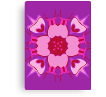 Exotic Flower-Pink Canvas Print