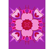 Exotic Flower-Pink Photographic Print