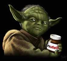 Yoda with Nutella by tohuwabohus