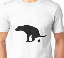 Dog Pooping Apples Unisex T-Shirt
