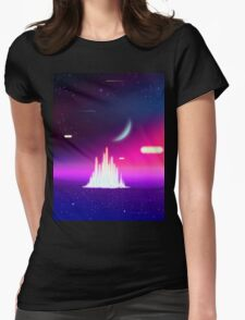 Crystal Towers Womens Fitted T-Shirt