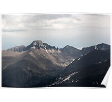 Longs Peak Rocky Mountain National Park Poster