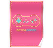 Retra Gamer - Model 101 Poster