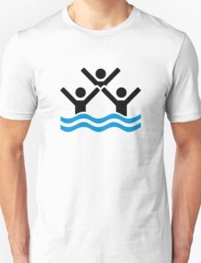 Synchronized swimming Unisex T-Shirt