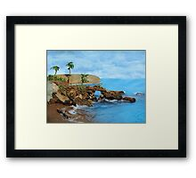 Model Key Hole Arch En plein air Framed Print