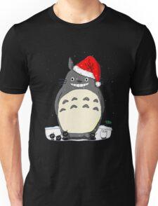 Totoro Christmas Santa Style Unisex T-Shirt