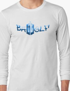 Bad Wolf Doctor Who Long Sleeve T-Shirt