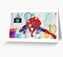 Spider-Man ART Greeting Card
