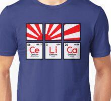 Cerium Lithium Calcium rising sun (1) Unisex T-Shirt