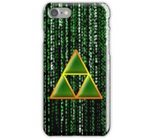 Triforce In Matrix iPhone Case/Skin
