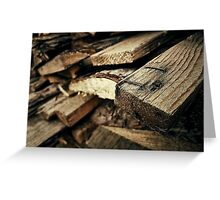 firewoods Greeting Card