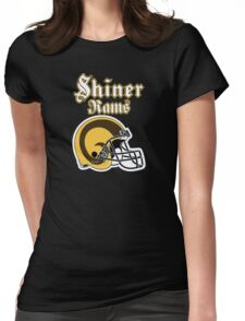 Shiner Rams Womens Fitted T-Shirt
