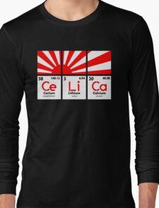 Cerium Lithium Calcium rising sun (2) Long Sleeve T-Shirt