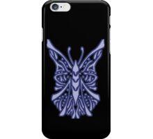 Elegant Butterfly Blue iPhone Case/Skin