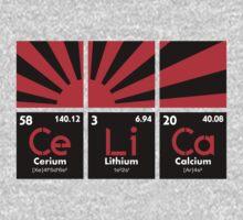 Cerium Lithium Calcium rising sun (4) by PlanDesigner