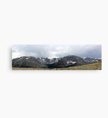 Rocky Mountain National Park Panorama 2 Canvas Print