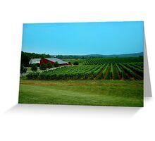 Barboursville Vineyards - Smalltown USA Series   ^ Greeting Card