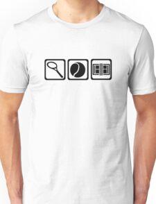 Tennis equipment Unisex T-Shirt