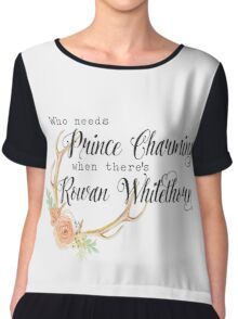 ToG Rowan Whitethorn Chiffon Top