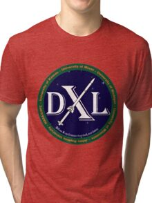Diffuse X-ray emission from the Local galaxy (DXL) Mission Logo Tri-blend T-Shirt