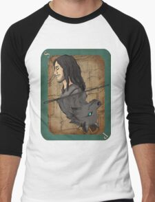 Sirius Black Playing Card Men's Baseball ¾ T-Shirt