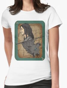 Sirius Black Playing Card Womens Fitted T-Shirt