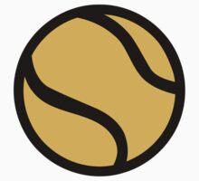 Tennis ball One Piece - Short Sleeve