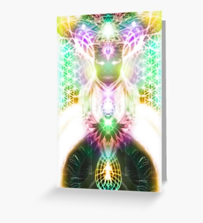 Awakened Greeting Card