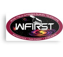 Wide Field Infrared Survey Telescope (WFIRST) IPAC Logo Metal Print