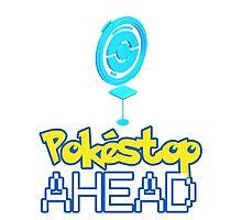 Pokemon Go - Pokestop AHEAD Photographic Print