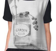 Garden Club Chiffon Top