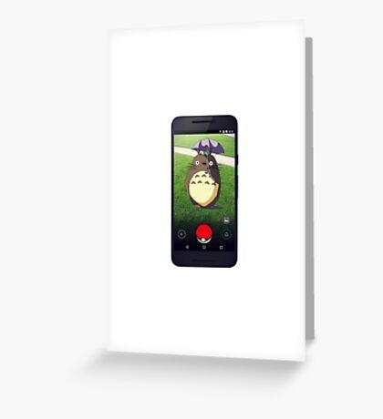 Wild Totoro Appeared Greeting Card