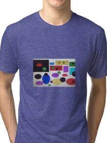 Abstract ness Tri-blend T-Shirt