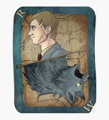 Remus Lupin Playing Card Poster