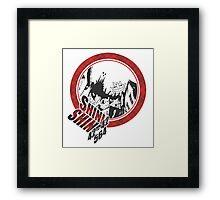Soul Eater - Death City Framed Print