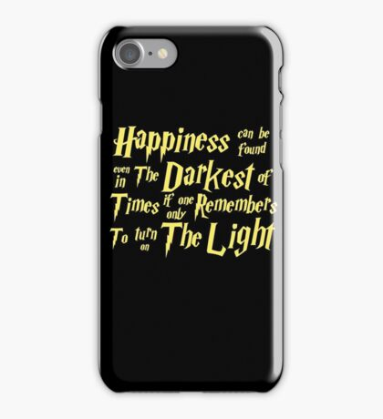 HP style iPhone Case/Skin