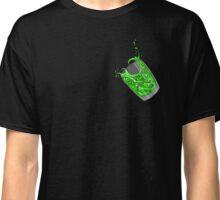 Wave in a glass (green) - little T-shirt Classique