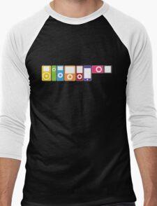 Apple iPod Lineup Men's Baseball ¾ T-Shirt