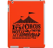 It's A Circus iPad Case/Skin