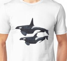 Orca male and female Unisex T-Shirt
