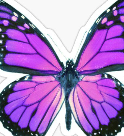 Ultraviolet Butterfly Sticker