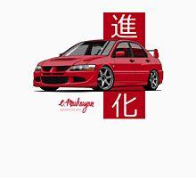 Mitsubishi Lancer Evolution VIII (red) Unisex T-Shirt