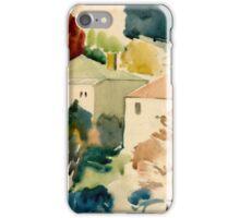 Little Autumn Village iPhone Case/Skin