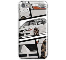 Mitsubishi Lancer Evolution VIII (white) iPhone Case/Skin
