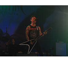 Bullet For My Valentine Photographic Print