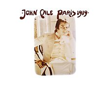 John Cale Paris 1919 Photographic Print