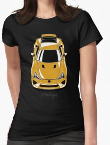 Lexus LFA (yellow) Womens Fitted T-Shirt